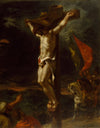 Eugene Delacroix - Christ on the Cross