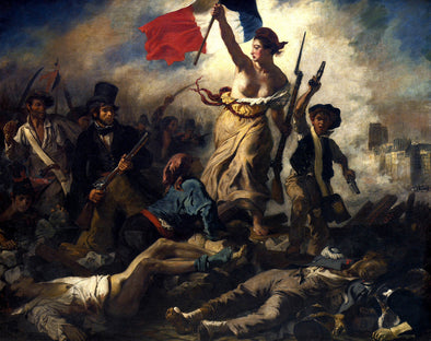 Eugene Delacroix - Liberty Leading the People