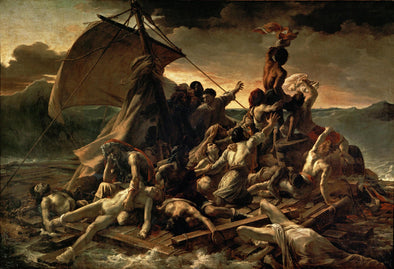 Eugene Delacroix - The Raft of the Medusa (Le Radeau de la Méduse)