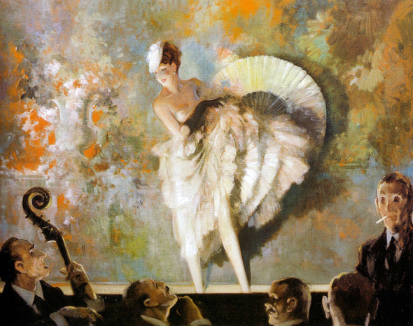 Everett Shinn - French Vaudeville