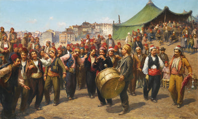 Fausto Zonaro - Bayram (The Celebration)