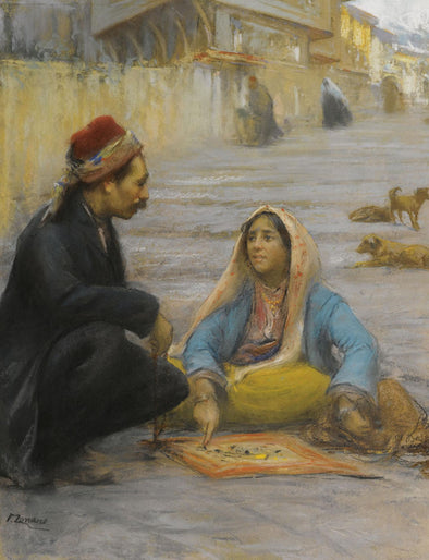 Fausto Zonaro - L'Indovina (The Fortune Teller)