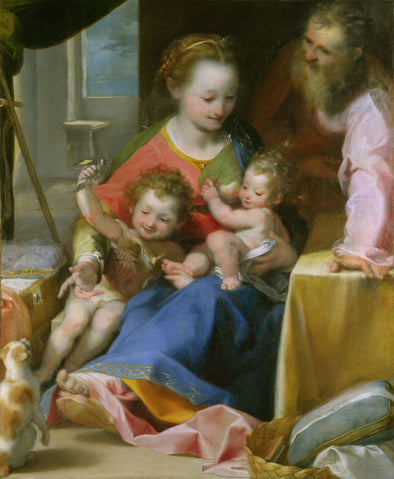 Federico Barocci - The Madonna of the Cat