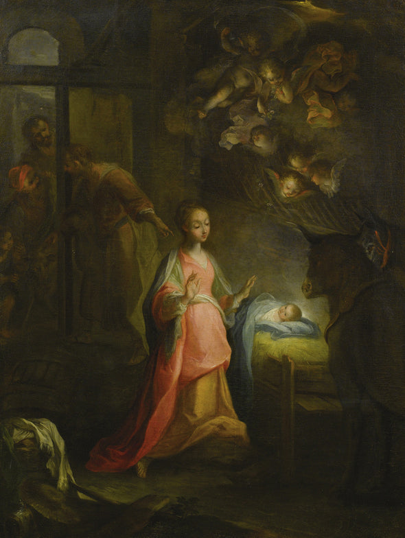 Federico Barocci - The Nativity Scene