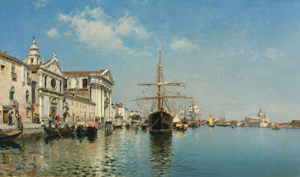 Federico del Campo - From the Church Gesuati Giudecca Canal, Venice