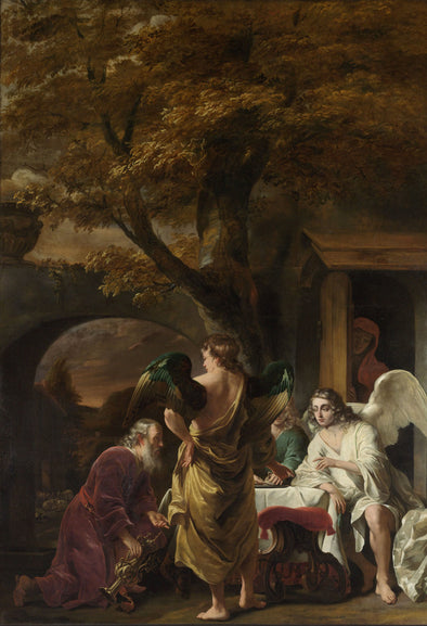 Ferdinand Bol - Abraham Receiving the Three Angels