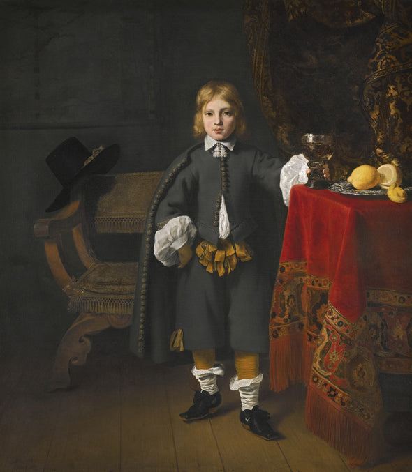 Ferdinand Bol - Portrait of a Boy, Said to be the Artist's Son