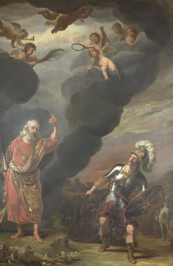 Ferdinand Bol - The Lord Appears to Joshua