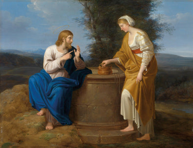 Ferdinand Georg Waldmüller - Christ and the Samaritan