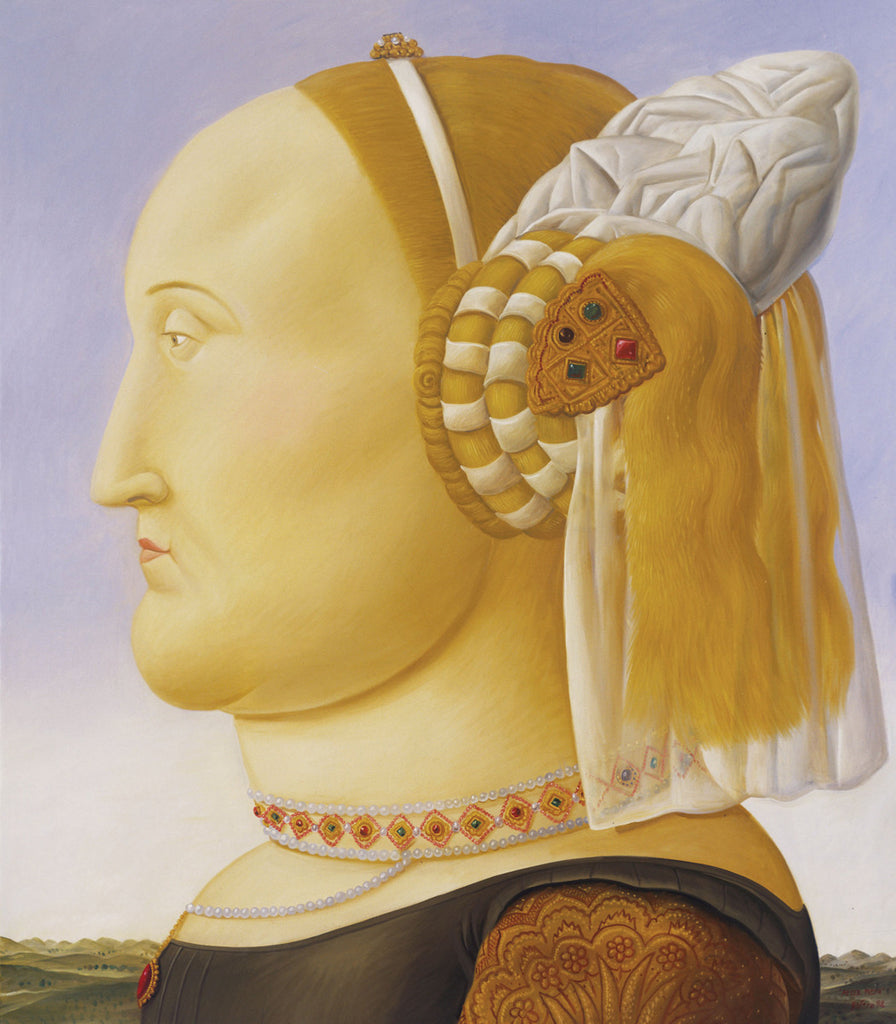 Fernando Botero - After Piero Della Francesca