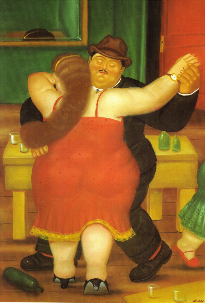 Fernando Botero - Couple Dancing