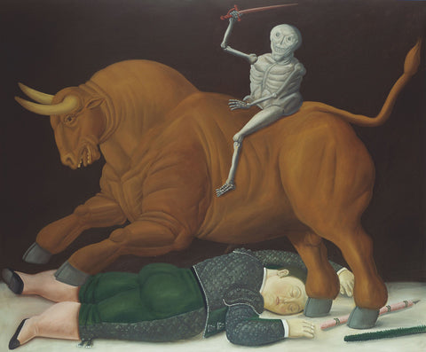 Fernando Botero - Death of Ramon Torres