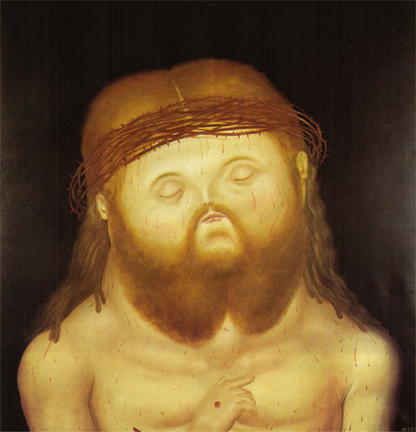 Fernando Botero - Head of Christ