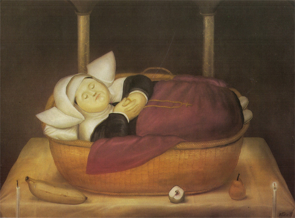 Fernando Botero - New-born Nun