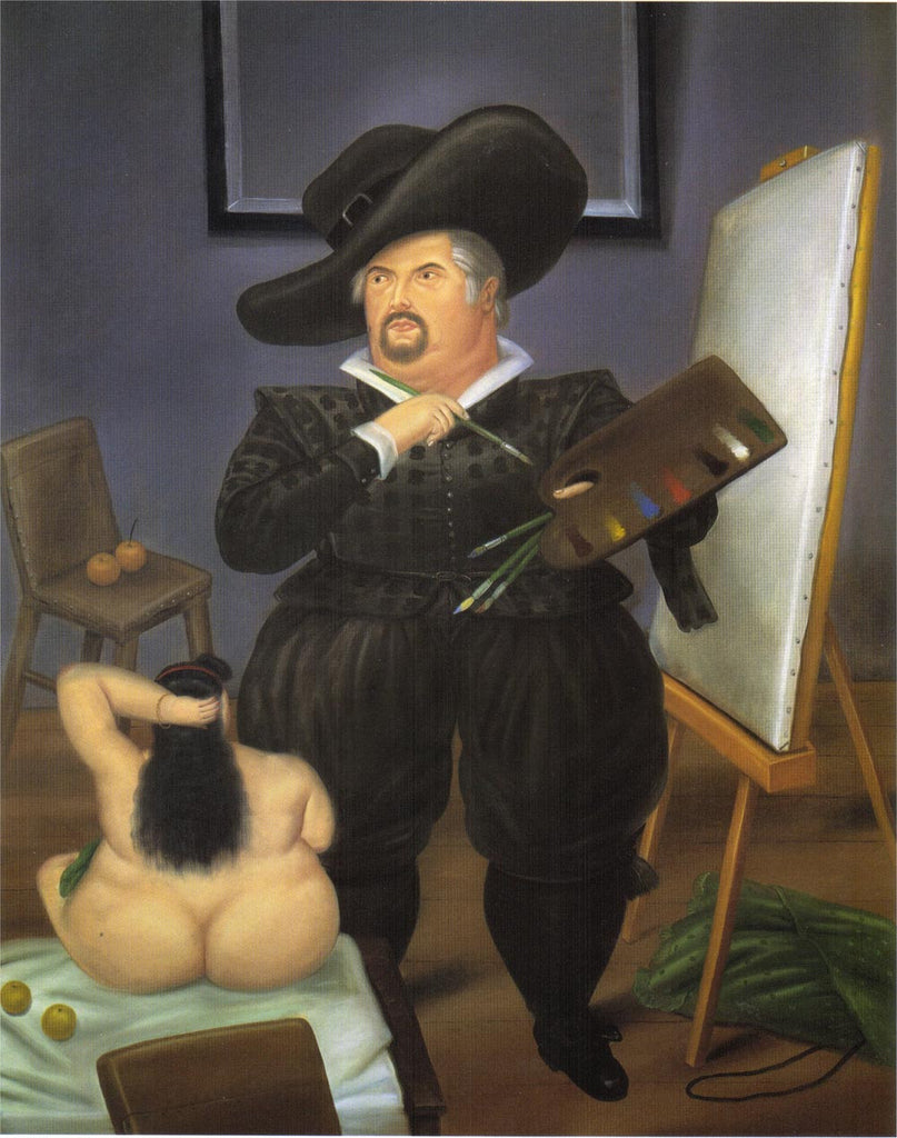 Fernando Botero - Self-Portrait as Velasquez