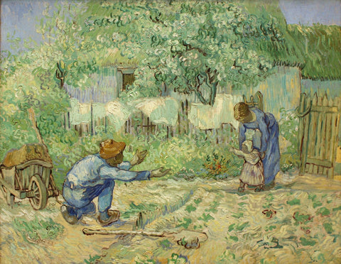 Vincent van Gogh - First Steps after Millet