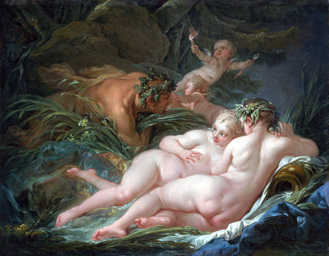François Boucher - Pan and Syrinx