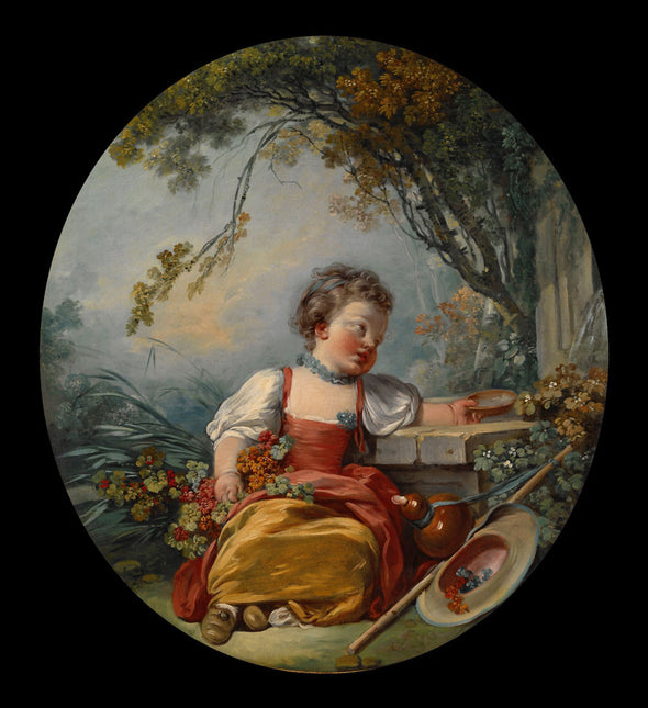 François Boucher - The Little Pilgrim