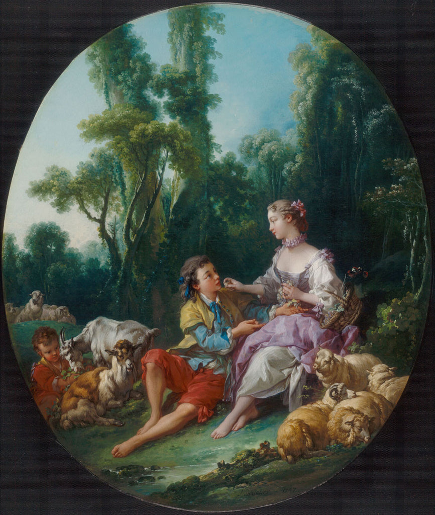François Boucher - They Thinking About the Grape