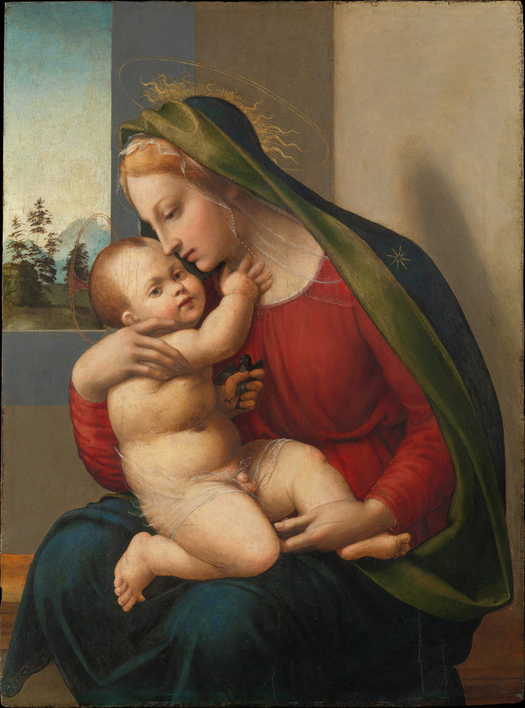 Francesco Granacci - Madonna and Child