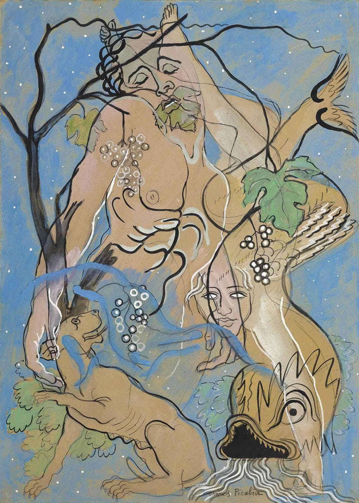 Francis Picabia - Jesus And The Dolphin