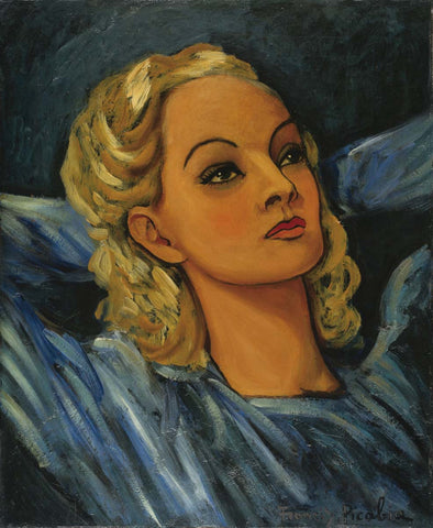 Francis Picabia - Portrait of a Blonde