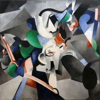 Francis Picabia - Udnie (Young American Girl, The Dance)
