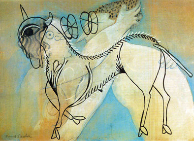 Francis Picabia - Lamb of God and Kiss