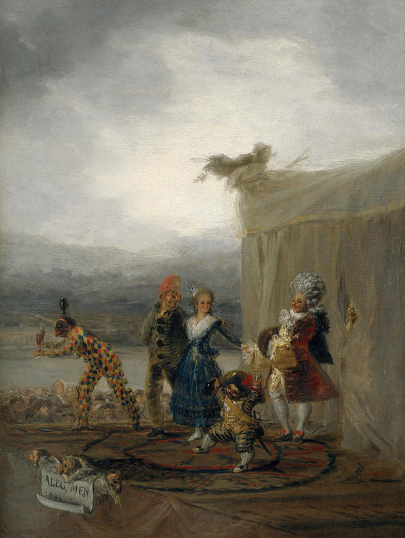 Francisco Goya - The Strolling Players
