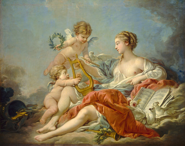 Francois Boucher - Allegory of Music