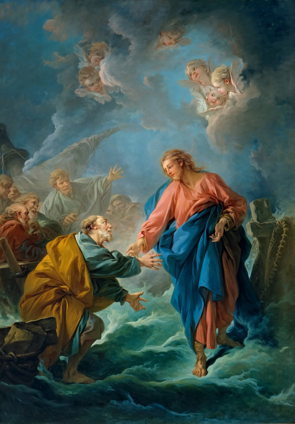 Francois Boucher - St. Peter Walks on Water