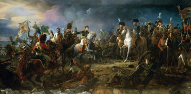 François Gérard - Napoleon at the Battle of Austerlitz