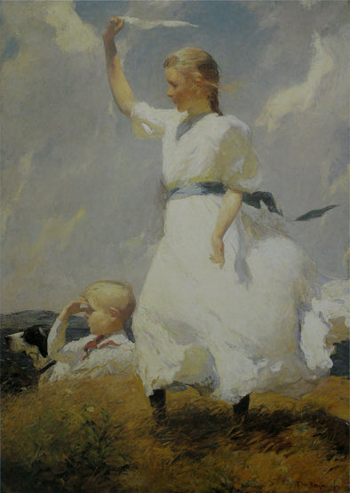 Frank Weston Benson - The Hill Top