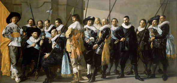 Frans Hals - Meagre Company