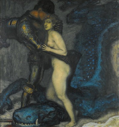 Franz Stuck - The Dragon Slayer