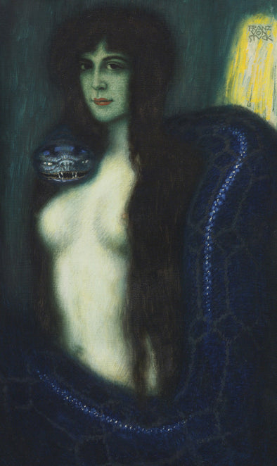 Franz Stuck - The Sin