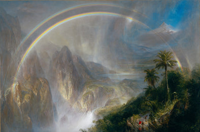 Frederic Church - Rainy Season in the Tropics