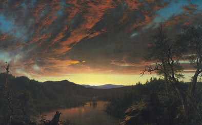 Frederic Church - Twilight in the Wilderness