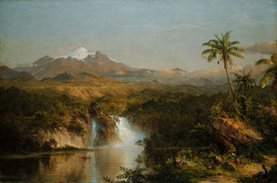 Frederic Church - View of Cotopaxi