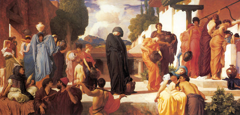 Frederic Lord Leighton - Captive Andromache