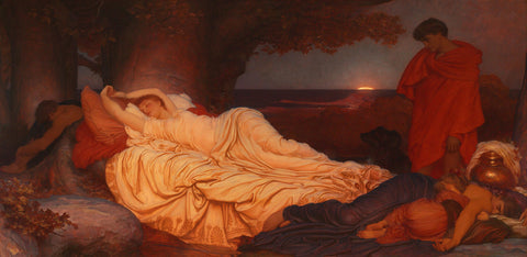 Frederic Lord Leighton - Cymon and Iphigenia