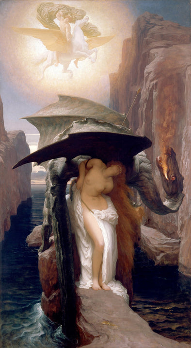 Frederic Lord Leighton - Perseus and Andromeda