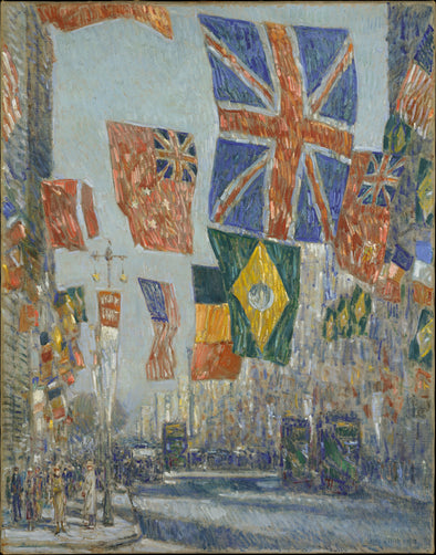 Frederick Childe Hassam - Avenue of The Allies, Great Britain