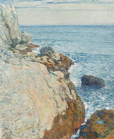 Frederick Childe Hassam - The East Headland, Appledore - Isles Of Shoals