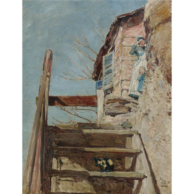 Frederick Childe Hassam - The Stairs