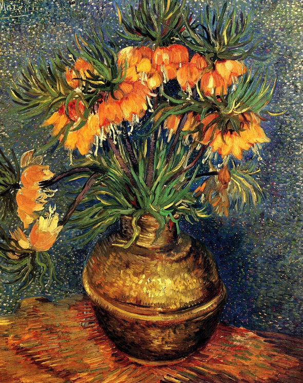 Vincent van Gogh - Fritillaries in a Copper Vase