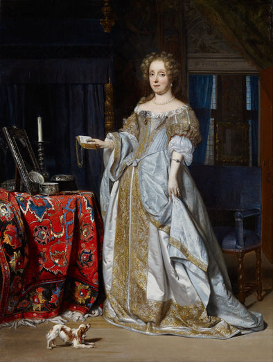 Gabriël Metsu - Portrait of a Lady