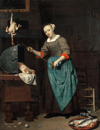 Gabriël Metsu - The Cook