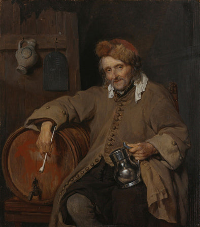 Gabriël Metsu - The Old Drinker