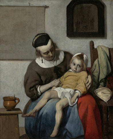 Gabriël Metsu - The sick child